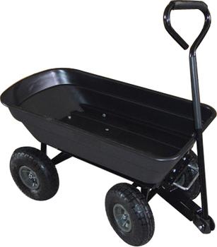 Lawn Large Yard Utility Dumping Plastic Garden Cart Dump Cart Garden Carts  Wagons Gardening WheelBarrow