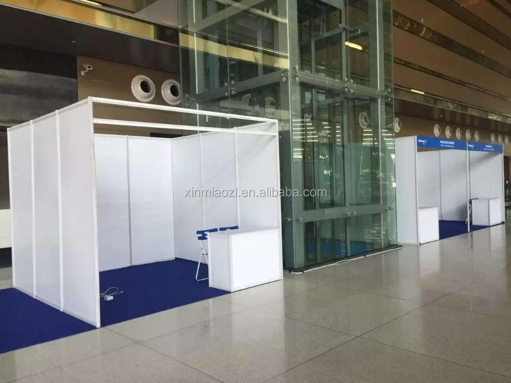 Modular Exhibition Stands Zero : Alumínio modular portátil comercial de exibição exposição