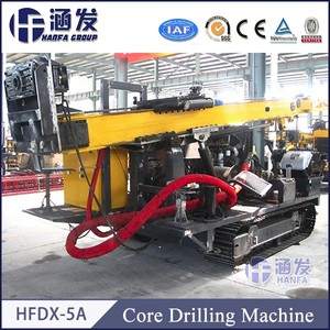 Mining exploration HFDX-5A diamond core drilling rigs price
