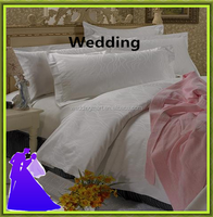 5 star Hotel bedding sets,white bed linen,cotton textile products