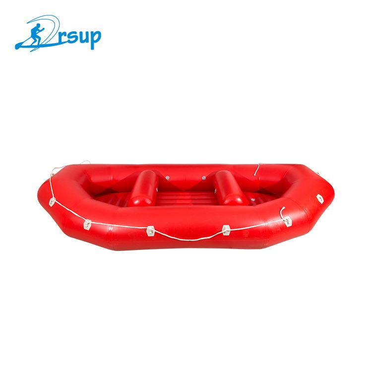 Inflatable sea kayak water sport rowing boat pvc inflatable boat for 3 persons