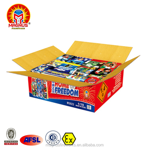Combo Pack Assortment Happy Family Cake Fireworks Case High quality Outdoor for Wholesale 1.4G UN0336 Fireworks and Firecrackers