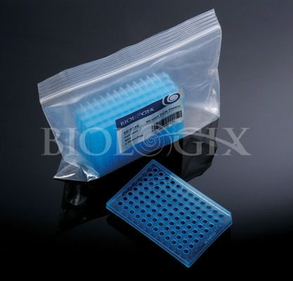 0.2 ml PCR 8-tube strip with flat 8-cap strips
