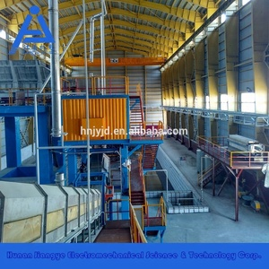 waste lead acid battery recycling machine