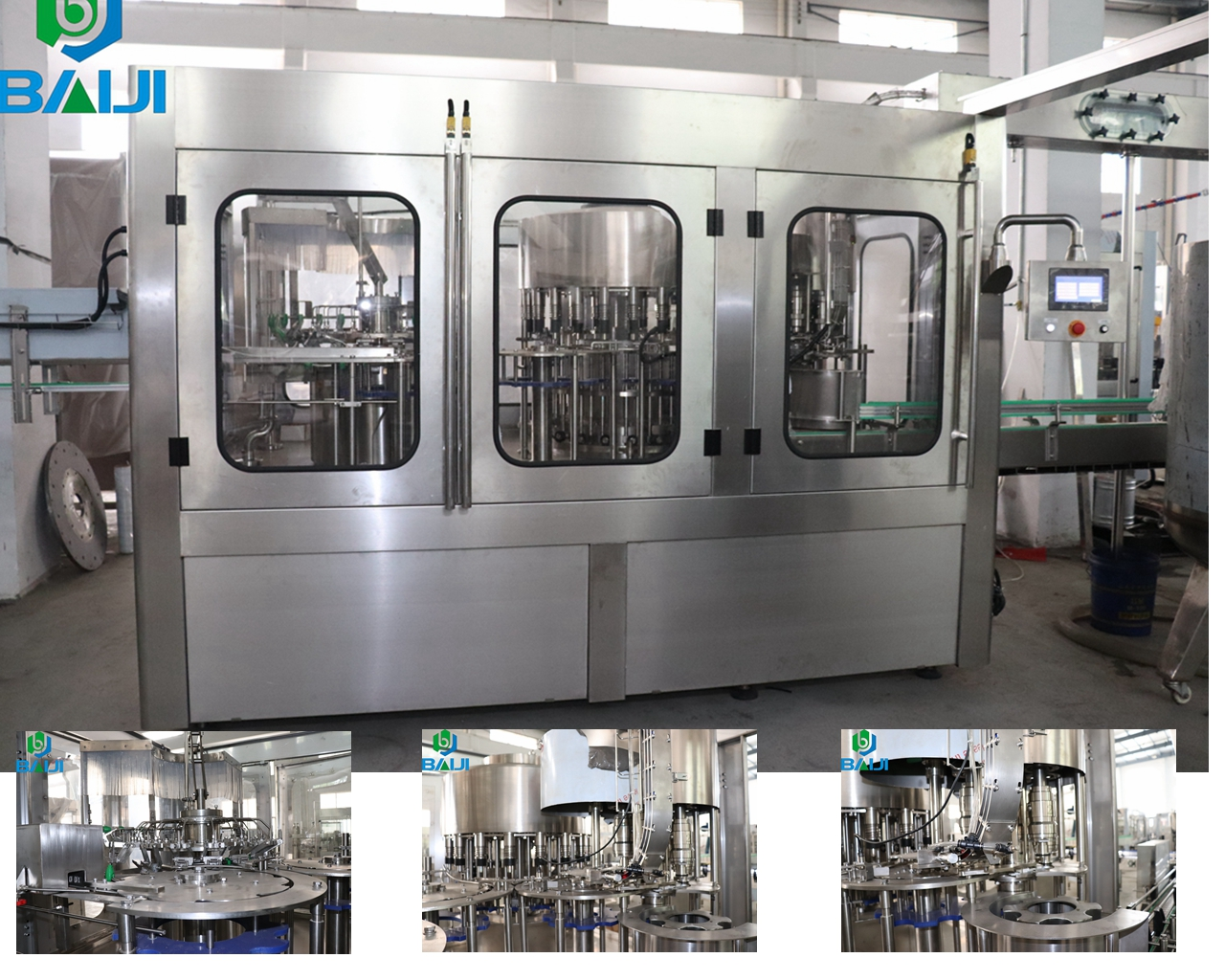 Automatic bottled drinking water making equipment / pure water bottling machine / mineral water filling plant price