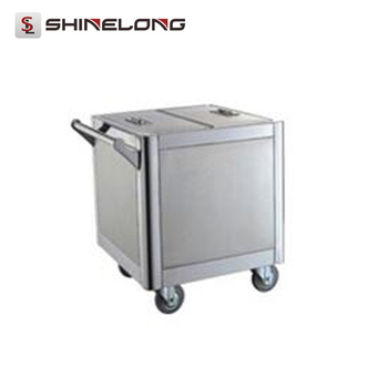 S093 Stainless Steel Kitchen Trolley Stainless Steel Flour Cart
