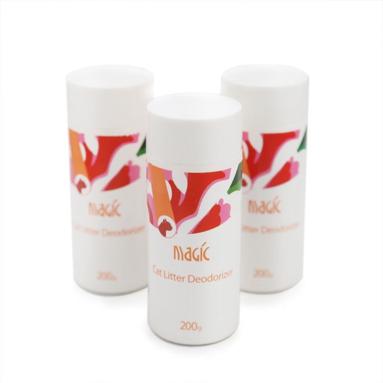 Profumo di Trasporto Specializzata A Risciacquo Lettiera Deodorante In Polvere