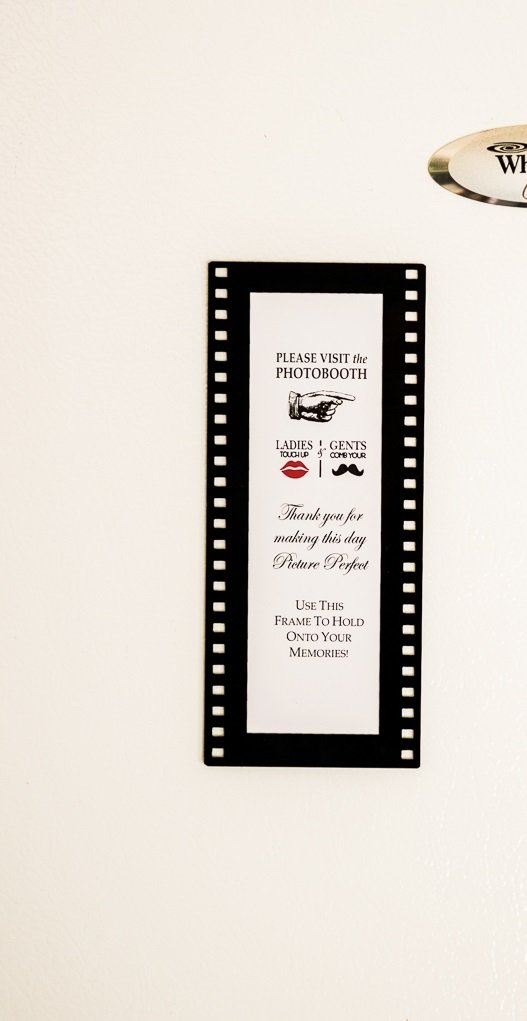 2x6 hollywood film style magnetic photo booth frames acrylic magnet photo booth frame (48)