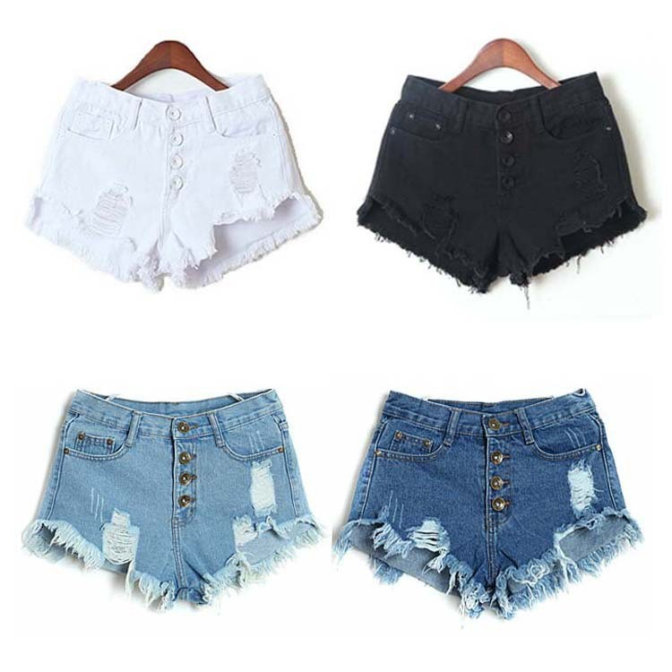 C85790A fcactory wholesale ladies jean shorts sexy lady denim shorts