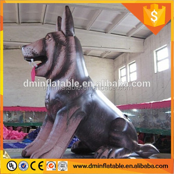 outdoor inflatable dog decoration inflatable pug dog giant inflatable dog