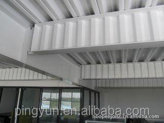 Warehouse Saving Cost 30 50 Corrugated Web H Shaped Beam