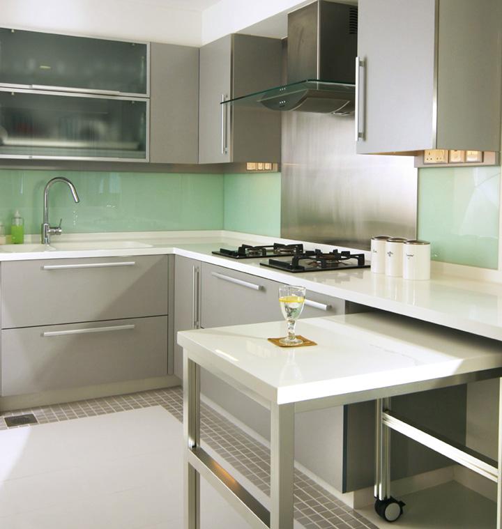 Indian Style Modular High Gloss Pvc Kitchen Designs - Buy ...