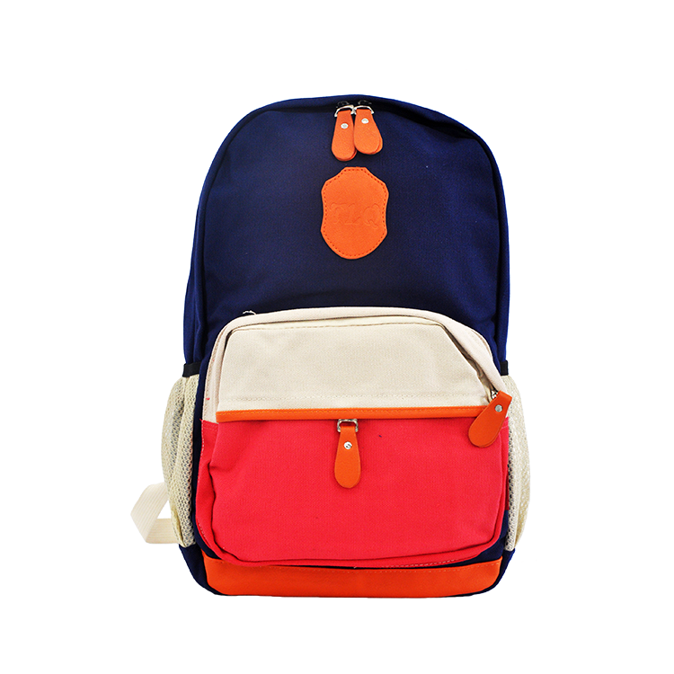 Top quality light soft hot sale leisure sports Travelling canvas backpack