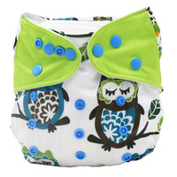 Free Shipping newborn aio charcoal cloth diaper for baby reusable waterproof bamboo ecological diaper cover