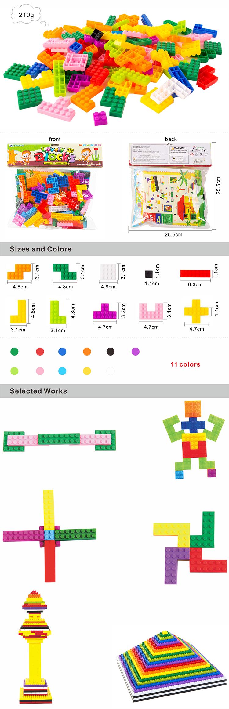 الوافدين الجدد 2020 تصميم لعبة تعليمية الطفل اللبنات السحرية تتريس كتل لعبة