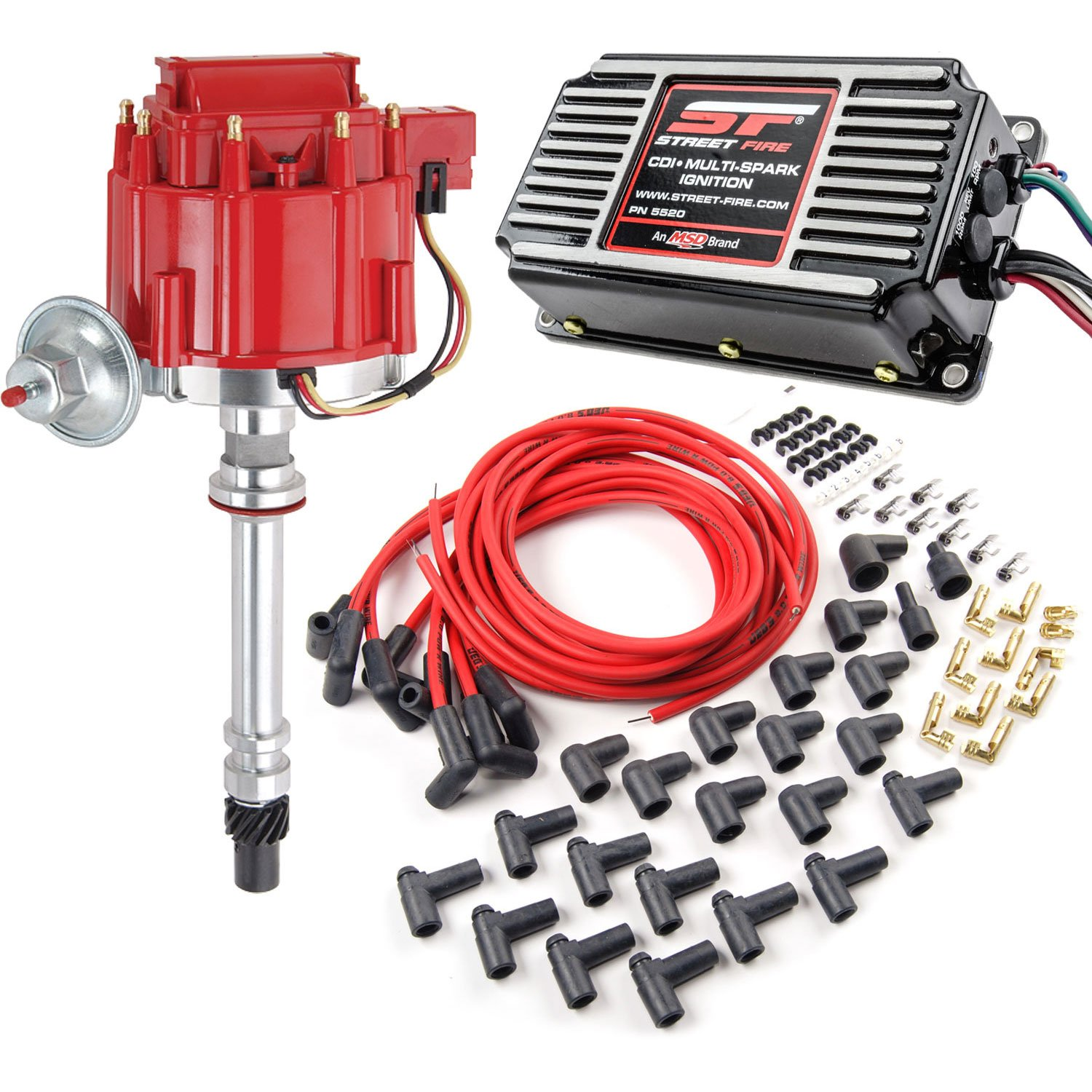 JEGS Performance Products 40005K2 JEGS HEI Street Spark Distributor Kit
