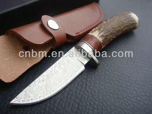 Damascus Hunting/Camping Knife