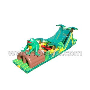 Commercial grade outdoor toys inflatable obstacle course A5040