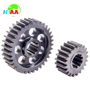 TS16949 certified precision machined steel spline quick change differential gear set