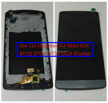 LCD Assembly For LG G3 S D722 D724 D725 LCD Display+Touch Screen Digitizer Frame For LG G3S