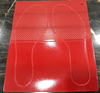 Embossed Rubber Sole Sheet from Dongguan Atom Shoes Material Limited