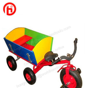 children wooden wagon tricycle dolly cart TC1803C