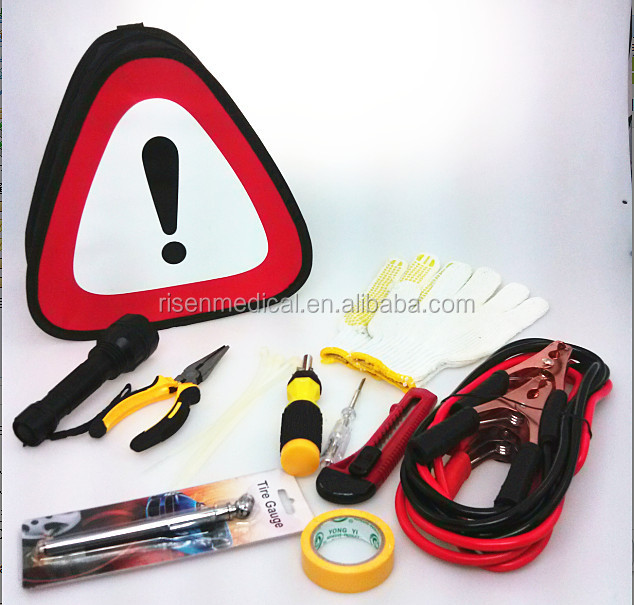 Roadside emergency tool kit
