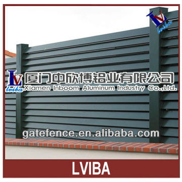 metal slat fence & aluminium louver fence and aluminium slat fence