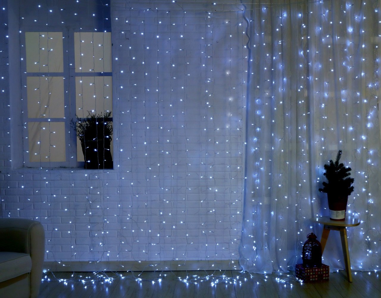 Cheap Curtain Lights White Wire Clear, find Curtain Lights White ...