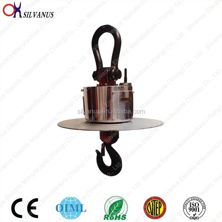 Wireless transmission and high-temperature thermal insulation digital hook weighing scale crane scale OCX-XS2H