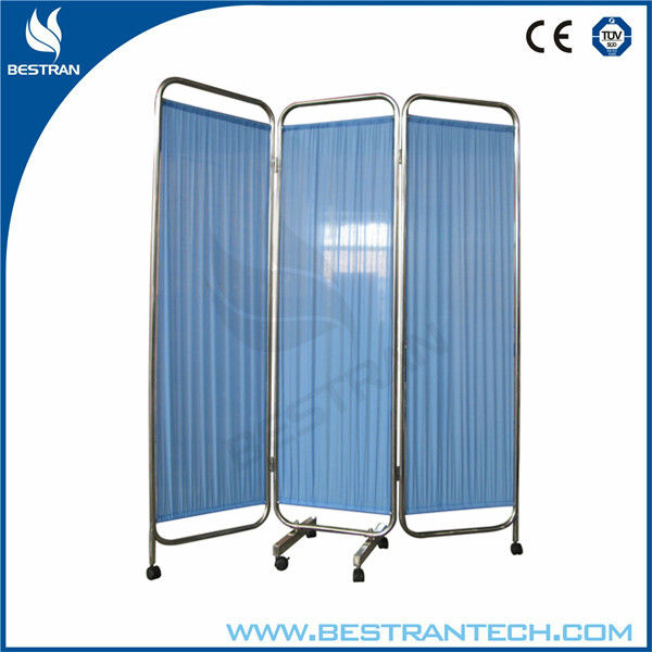 BT-CP002 Hospital 3 wings ward Folding Privacy Screen