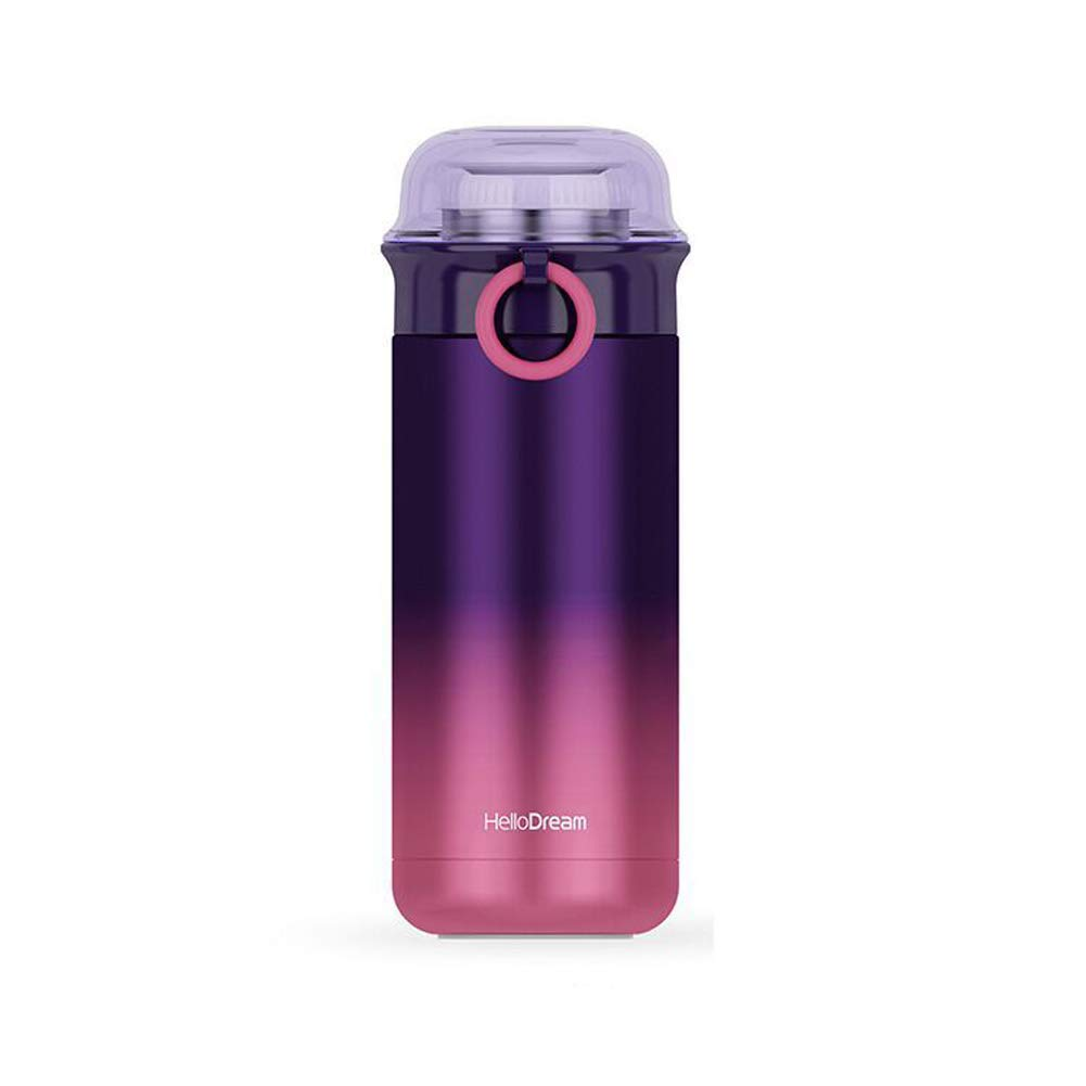 498e231056 Get Quotations · Ouken Thermos Cup Potable Sports Water Bottle Stainless  Steel Vacuum Thermos Cup 350 ML(Clove