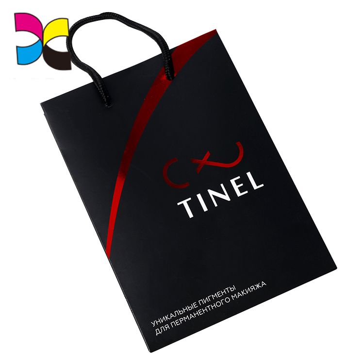 Guangzhou manufacturer new products nice printing quality customized handmade folding paper bag