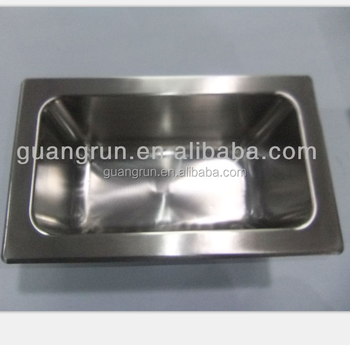 Small Stainless Steel Customised Kitchen Sink Or Smart Tray - Buy ...