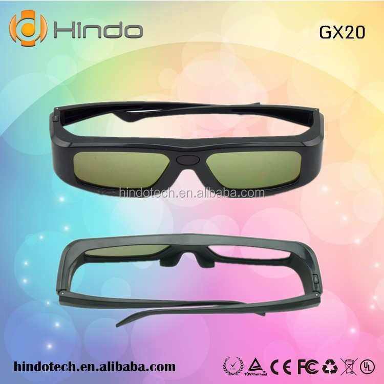 Rechargeble Kids Panda Design Movie IR 3D Glasses for Most Brand IR TV