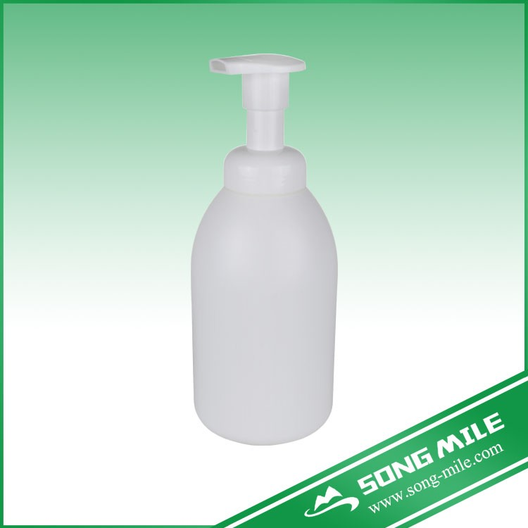 250ml PET round bottle and dispensing foam pump head