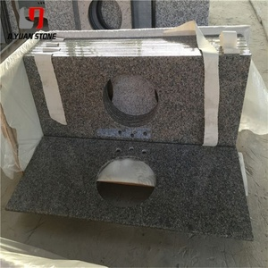 Compeive Price Brazilian New Caledonia Granite Countertop Vanity Tops Kitchen