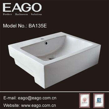 Eago Ceramic Counter Top Bathroom Basin