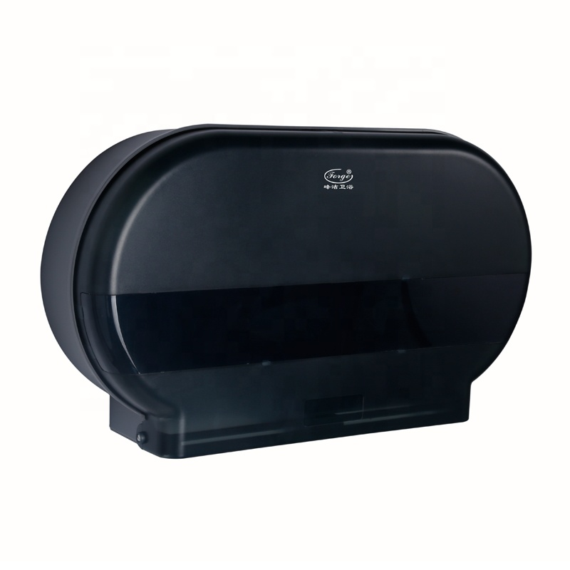 Abs Plastic Dual Roll Toilet Paper Dispenser
