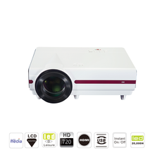 CRE X1500 LED Video Home Cinema LCD HD LED Portable Projector Built In Speaker Dustproof and Full Sealed Engine Projector