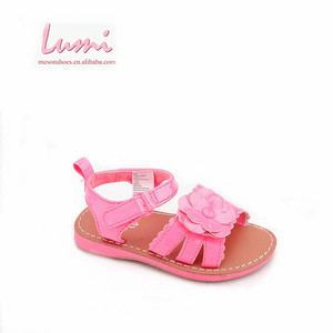 Latest shoes 2017 arrivals kid girl sticky sandal