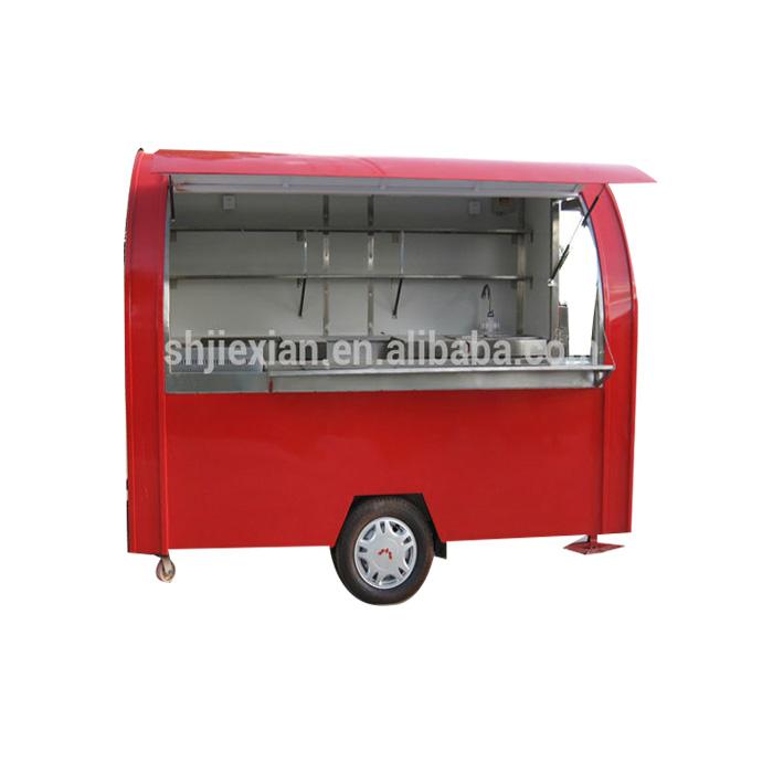 Melhor serviço após-venda utilizados caminhões de alimentos para venda na Europa