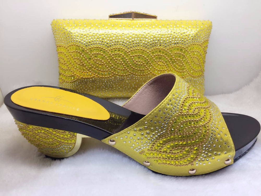 and Italian Fashion Bags Set Shoe African Bag Matching Clutch Shoes and Party awqfd4xwz