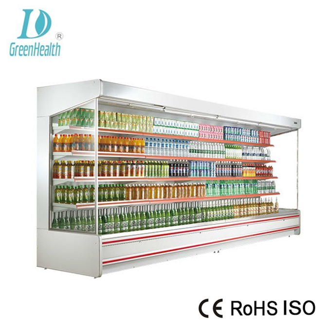 Australia cold showcase display refrigerators for supermarket use