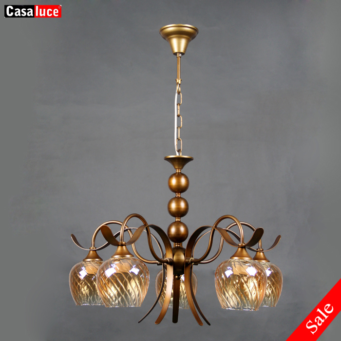 Well-Educated Hotel Lighting Fixture Church Chandeliers Living Room Chandelier Glass Shade Resin Red Wood Chandelier Restaurant Bar Lighting Lights & Lighting