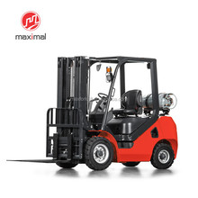A Series 3.5 ton Maximal EPA Gasoline/LPG Forklift for USA market
