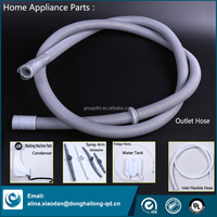 All Home Appliance Plastic Parts Flexible Home Appliance Outlet Pipe