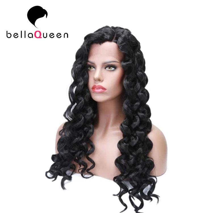 Full lace brazilian human hair wig for black women