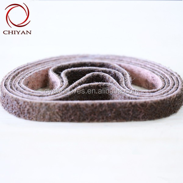 Good quality low price Non woven abrasive 3M sand belt