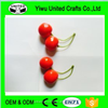 fake cherry/artificial Cherry,fake fruit for home decoration ,fake vegetable for party decoration US
